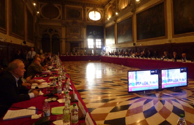 108th Plenary Session of the Venice Commission of the Council of Europe. Photo: Council of Europe