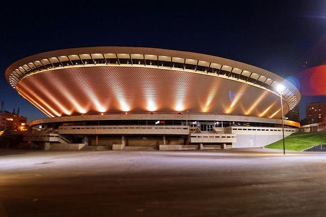 Katowice's landmark Spodek arena