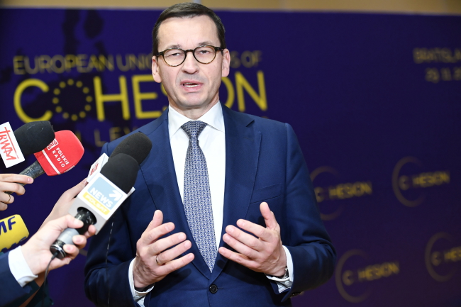 PM Mateusz Morawiecki. Photo: PAP/Jacek Turczyk