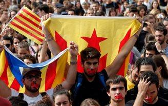 На акцыю ў падтрымку адхіленага ўраду выйшлі паўмільёна каталёнцаў
