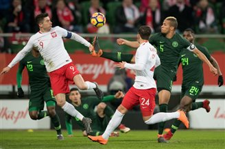Poland loses to Nigeria in friendly