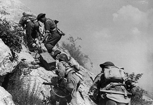 Schlacht um Monte Cassino Photo: wikimedia commons