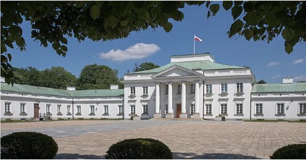 Warsaw's Belweder Palace. Photo: Krzysztof Sitkowski/KPRP