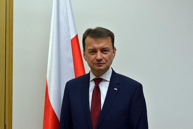 Mariusz Błaszczak. Photo: Flickr.com/Ministerstwo Spraw Wewnętrznych i Administracji
