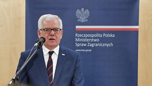 Глава польской дипломатии Яцек Чапутович