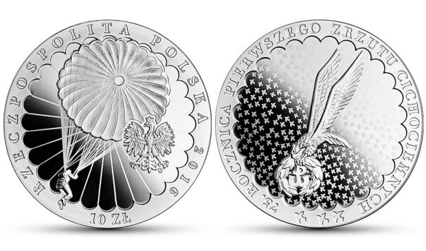 The coin has a face value of PLN 10. Photo: NBP