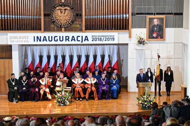 Католицький люблінський університет, 21 жовтня 2018 року