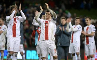 Poland draws with Ireland in Euro qualifier