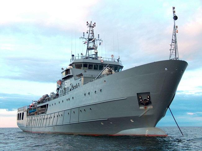 ORP Kontradmirał Xawery Czernicki. Photo:mw.mil.pl