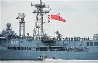 """ORP """"Kościuszko"""" w Stałym Zespole Okrętów NATO"""