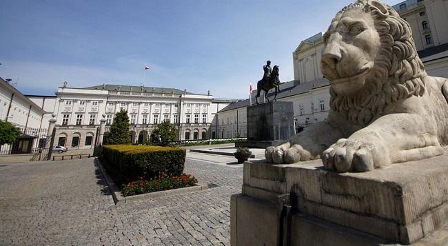 Presidential Palace in Warsaw Photo: Mateusz Włodarczyk/Wikimedia Commons