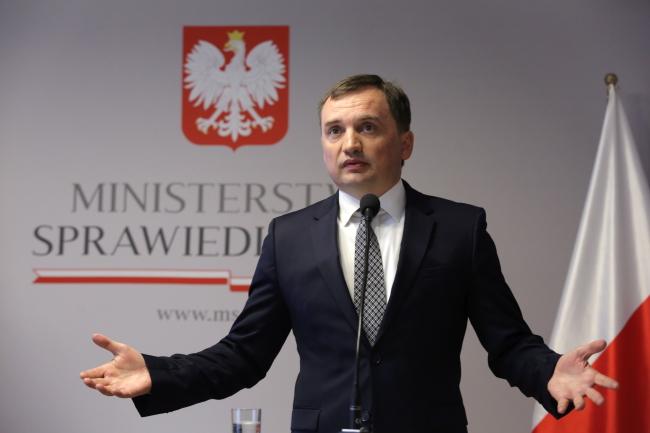 Zbigniew Ziobro. Photo: PAP/Tomasz Gzell.