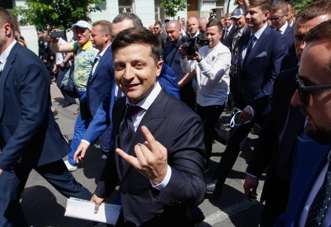 Новий президент України Володимир Зеленський