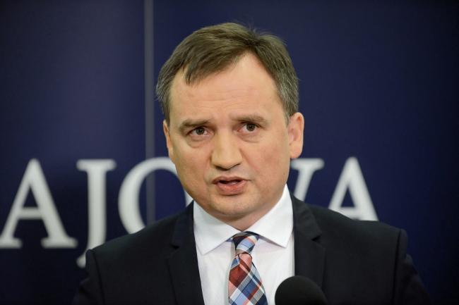 Poland's Justice Minister Zbigniew Ziobro. Photo: PAP/Jakub Kamiński