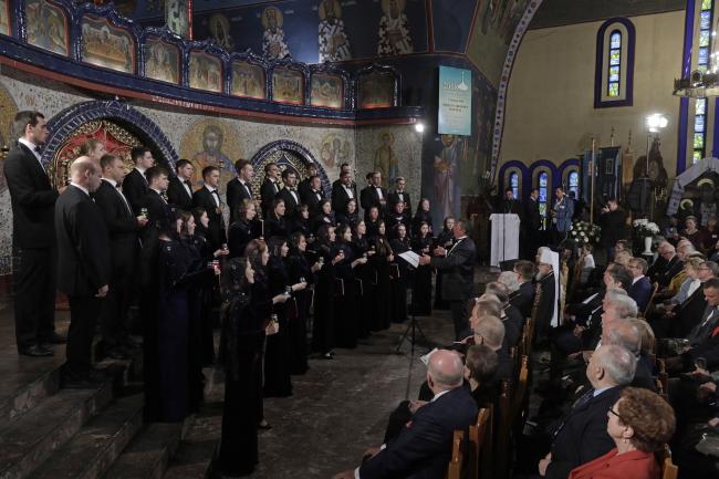 Виступ студентського хору Харківської державної академії культури
