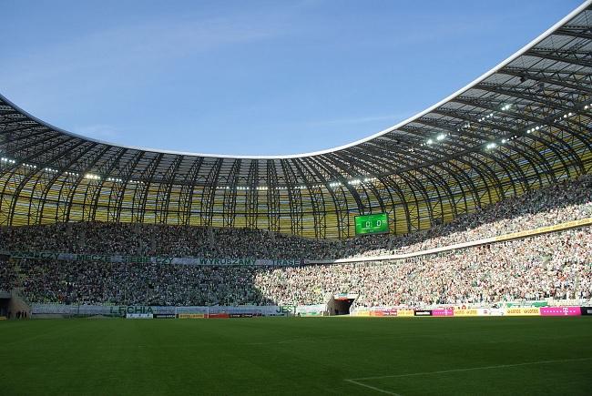 PGE Arena in Gdańsk. Photo: cc/wikimedia/Dariusz Boczek