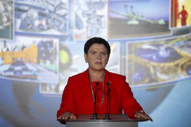 Beata Szydło. Photo: PAP/Andrzej Grygiel.