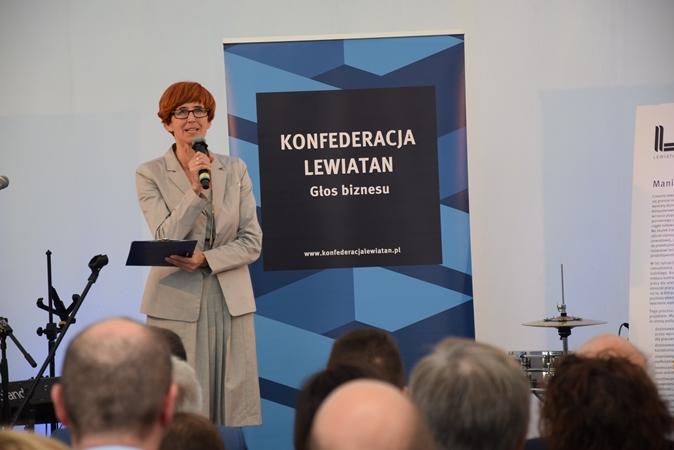 Міністр Ельжбєта Рафальська