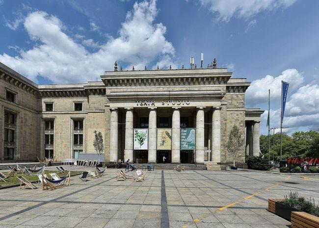 Театр STUDIO  в Варшаве им. С.И. Виткевича (Площадь Дефилад 1)
