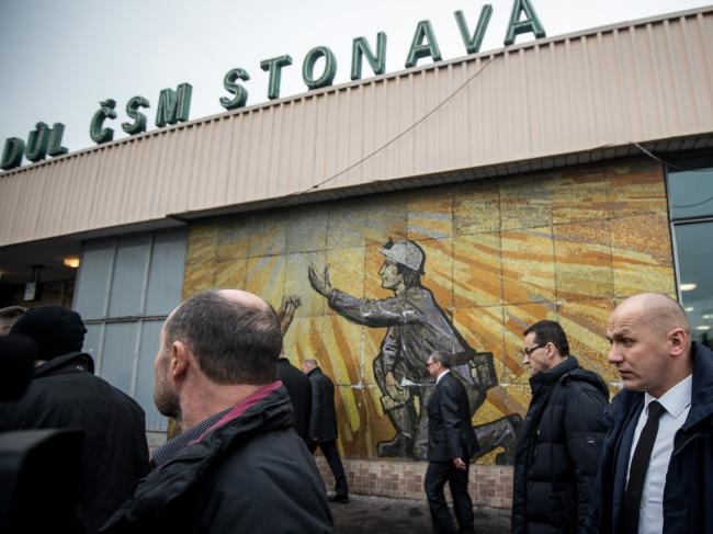 До Карвіни (Чеська Республіка) прибув очільник польського уряду Матеуш Моравєцький (другий праворуч)