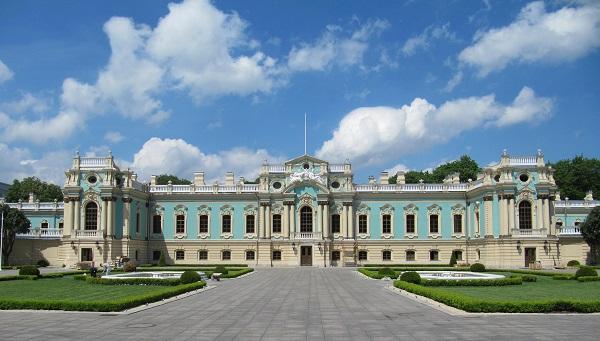 Маріїнський палац, офіційна резиденція президента України