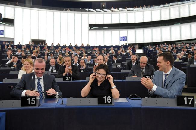 Польська євродепутатка від Громадянської платформи і екс-прем'єрка Польщі Ева Копач