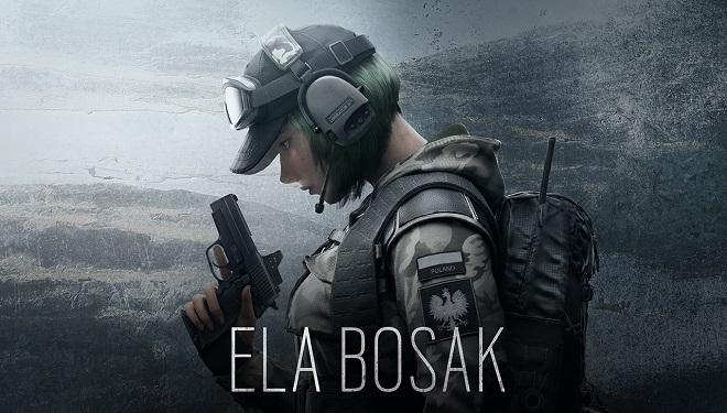 Ela Bosak z gry Rainbow Six: Siege