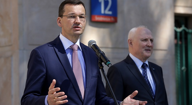 Вице-премьер Матуш Моравецкий.