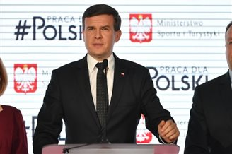 Polish sports minister outlines achievements
