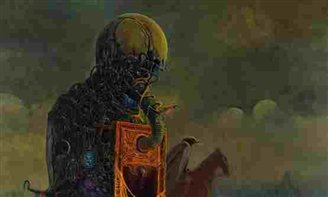 Surrealist Beksinski celebrated in Vienna show