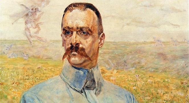 Портрет Юзефа Пілсудського авторства Яцека Мальчевського
