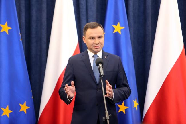 Andrzej Duda. Photo: PAP/Leszek Szymański