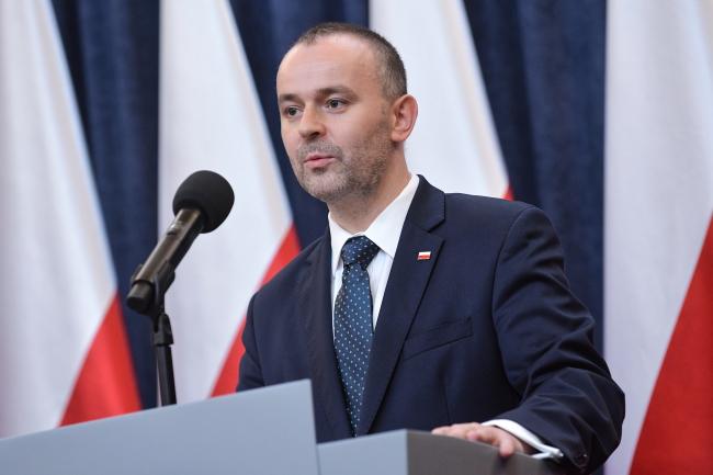 Міністр Павел Муха з Канцелярії президента Польщі