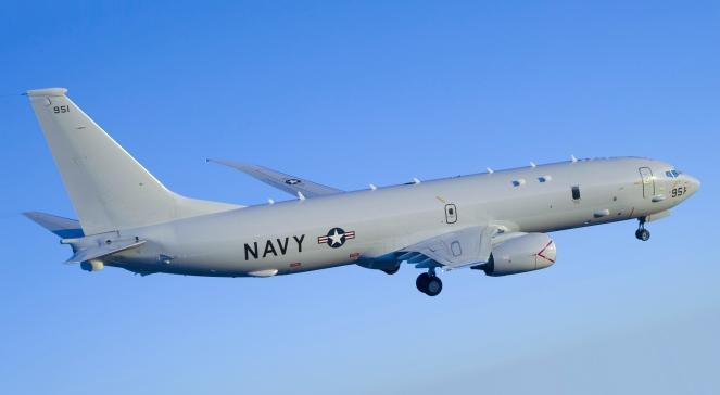 Літак-розвідник ВПС США P-8A Poseidon