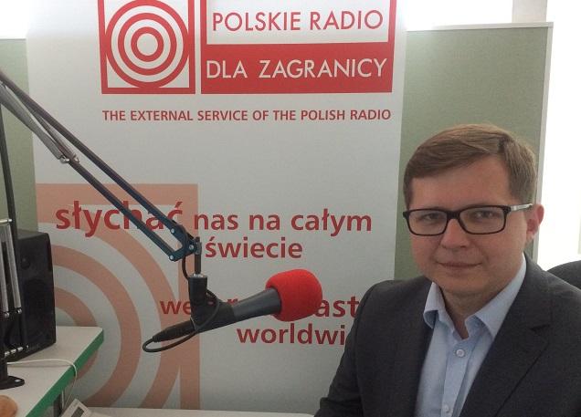 """Tomasz Matynia, współorganizator kongresu """"Polska - Wielki Projekt"""""""