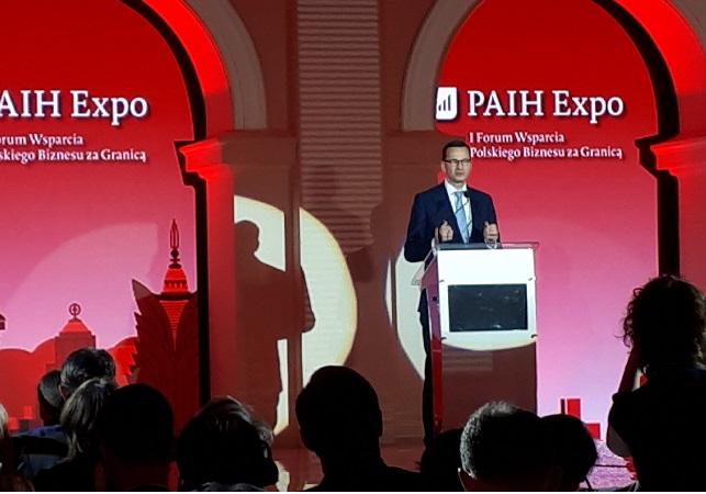 Mateusz Morawiecki at the Polish Investment and Trade Agency gala. Photo courtesy of Danuta Isler.