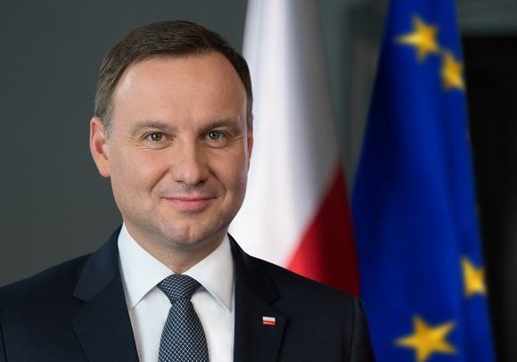 Polish President Andrzej Duda. Photo: www.prezydent.pl