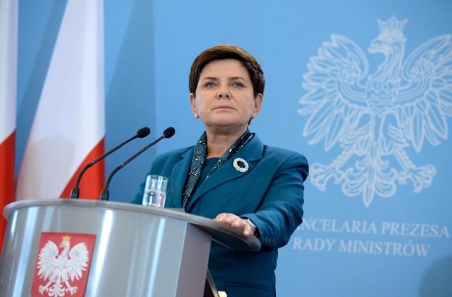PM Beata Szydło. Photo: PAP/Jacek Turczyk