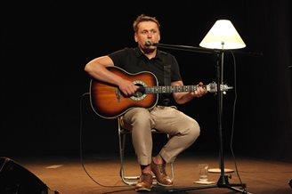 Вайцюшкевіч прэзэнтаваў альбом, запісаны разам зь Някляевым (ФОТА)