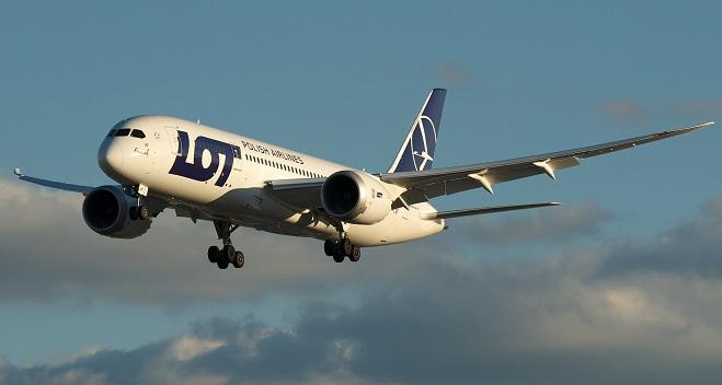 Boeing 787 Dreamliner Polskich Linii Lotniczych LOT
