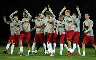 Germans await as Poland braces itself for glory