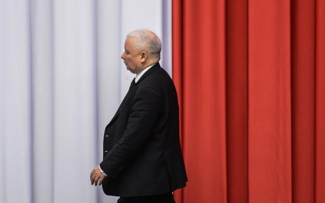 Jarosław Kaczyński. PAP/Jakub Kamiński