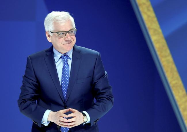 Jacek Czaputowicz. Photo: PAP/Andrzej Grygiel.