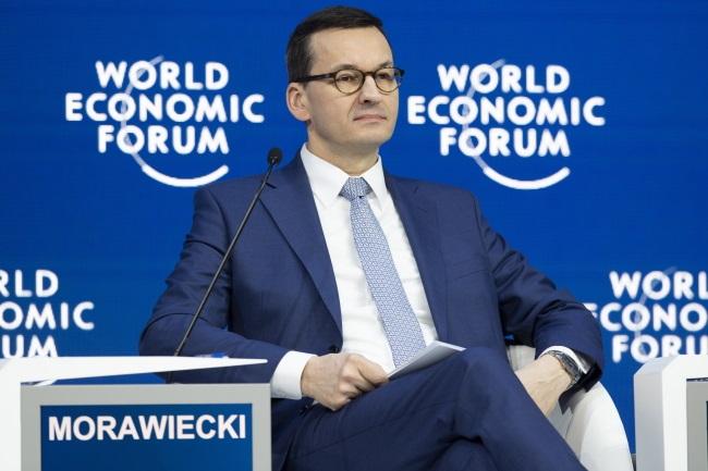 Mateusz Morawiecki. Photo: EPA/GIAN EHRENZELLER