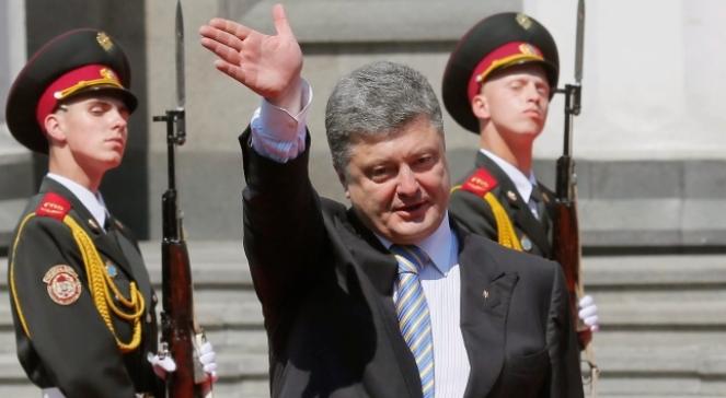 Ukraine president, Petro Poroszenko. Photo: PAP