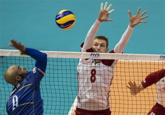 Volleyball: Poland lose 1-3 to France at world championships