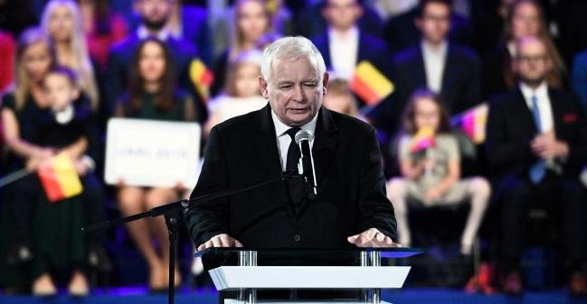 """Лидер партии """"Право и справделивость"""" Ярослав  Качиньский"""