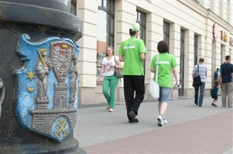 Over eight percent of Poles volunteer