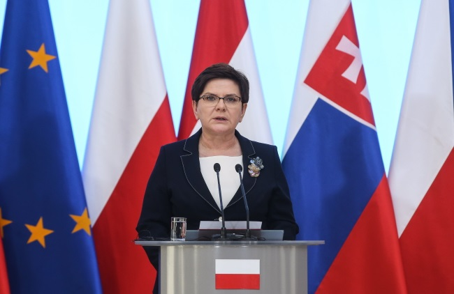 PM Beata Szydło. Photo: PAP/Rafał Guz