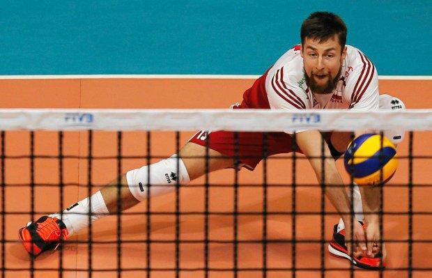 Капитан сборной Польши Михал Кубяк